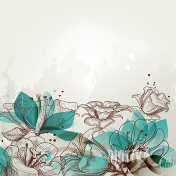 Motiv - Illustration Lilien